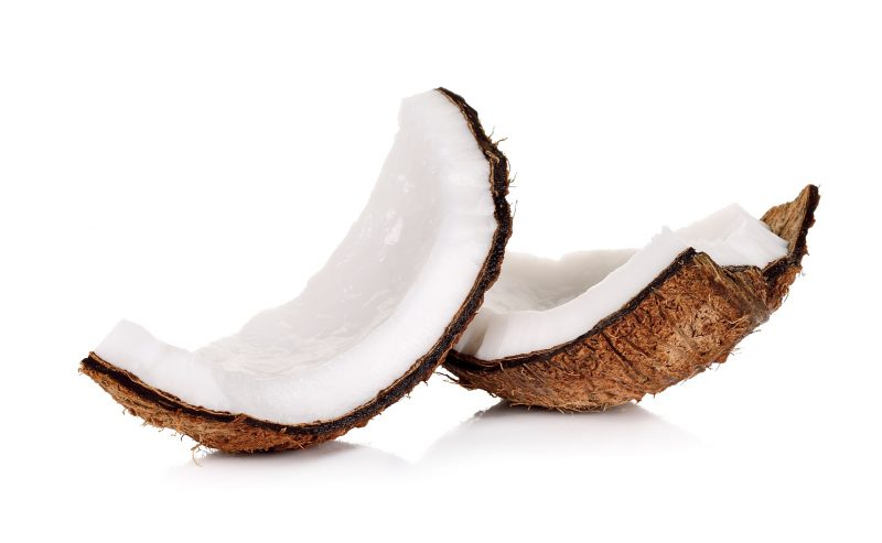 почистить кокос