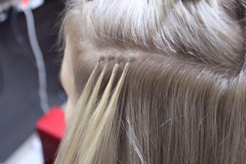 Капсульное наращивание волос: плюсы и минусы, сколько держится, как ухаживать за наращенными волосами