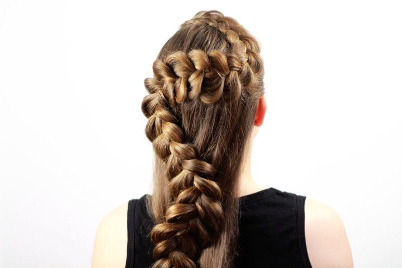 Французские косички - 15 вариантов, как заплести длинные и средние волосы, фото